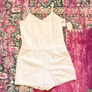 1.state new with tags white eyelet romper